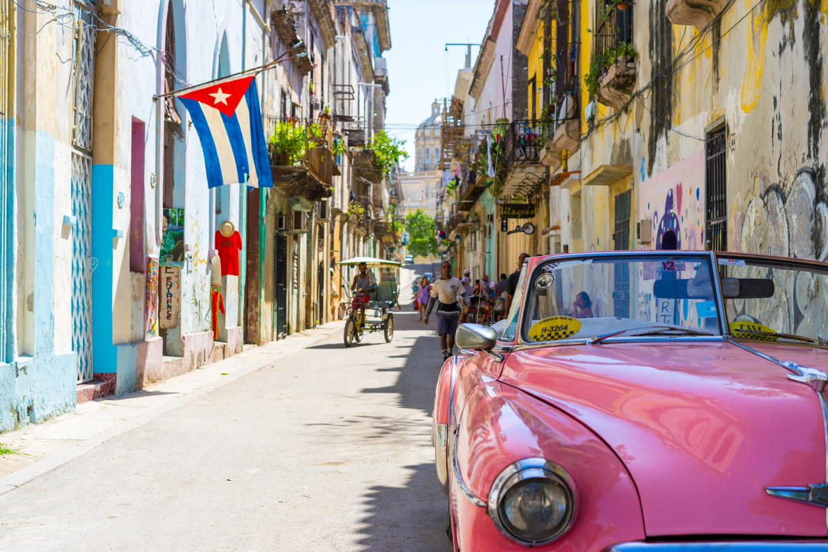 POPULAR PLACE. Cuba reached one million visitors in just three months.