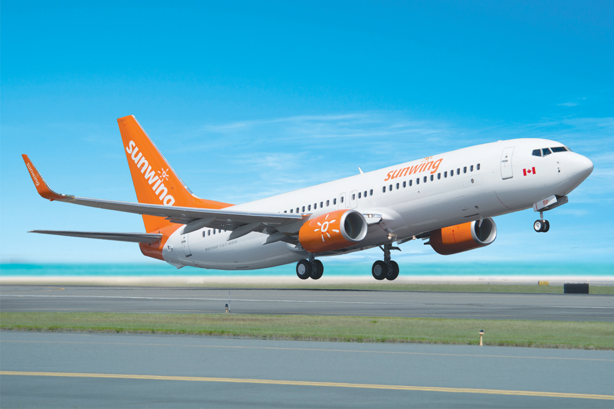 """We're about selling the full experience,"" says Sunwing Travel Group COO Andrew Dawson. Photo: Sunwing"