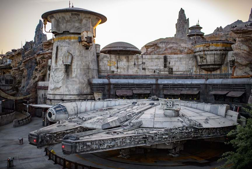 IPW attendees will be among the first to experience the all-new Star Wars: Galaxy's Edge at Disneyland Resort in California. Photo: visitanaheim.org.