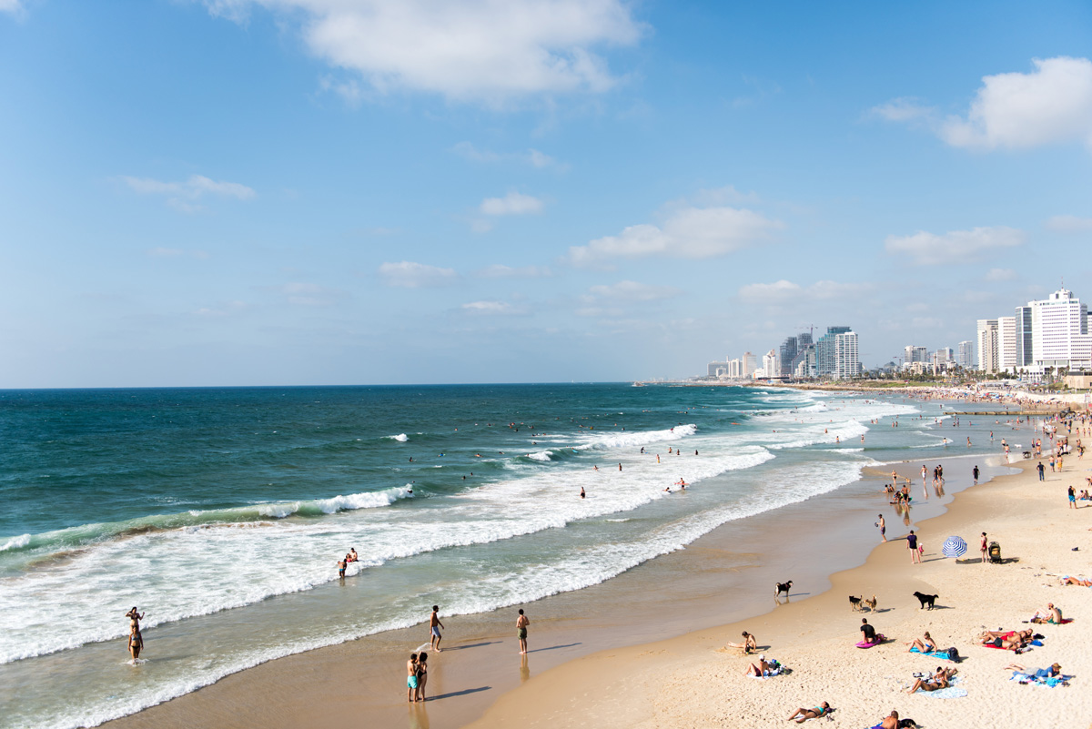Tel Aviv is among the destinations being promoted by the Israel Ministry of Tourism