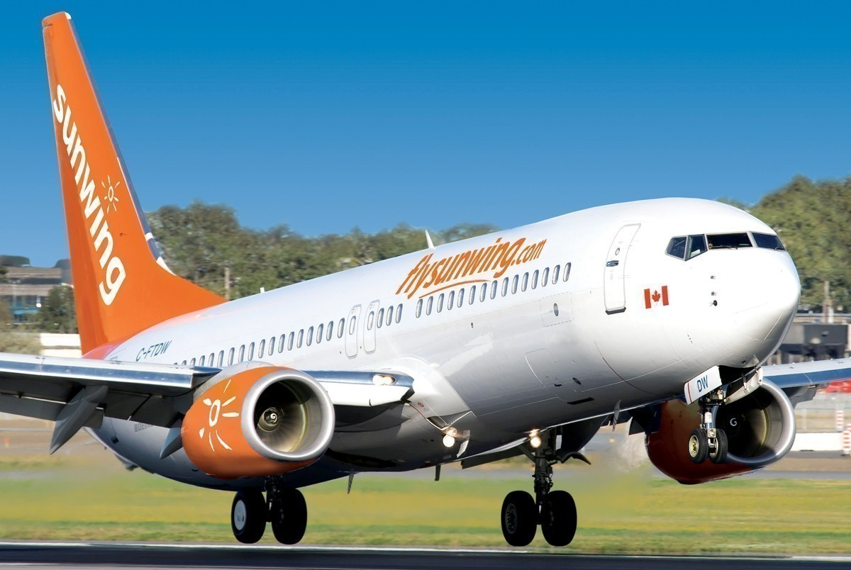 Sunwing has temporarily suspended all southbound flights from March 17th until April 9th to concentrate its efforts on bringing customers home safely.  (Supplied)
