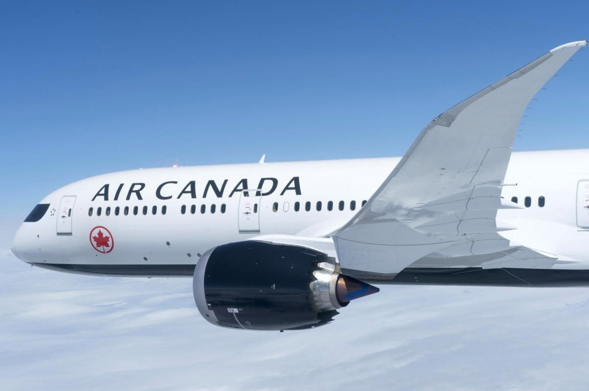 Air Canada will be re-starting routes to select destinations in June. (Supplied)