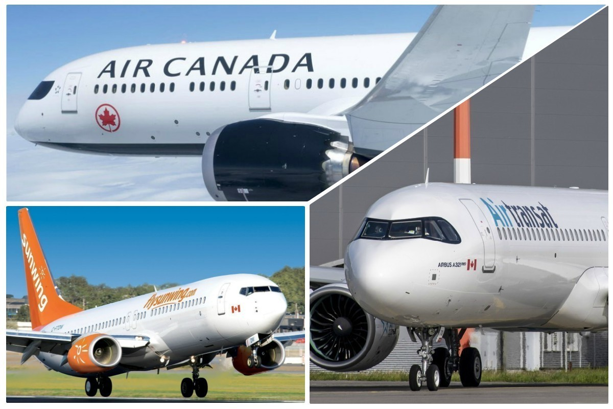 Air Canada, Air Transat, & Sunwing have all suspended international flights until June.