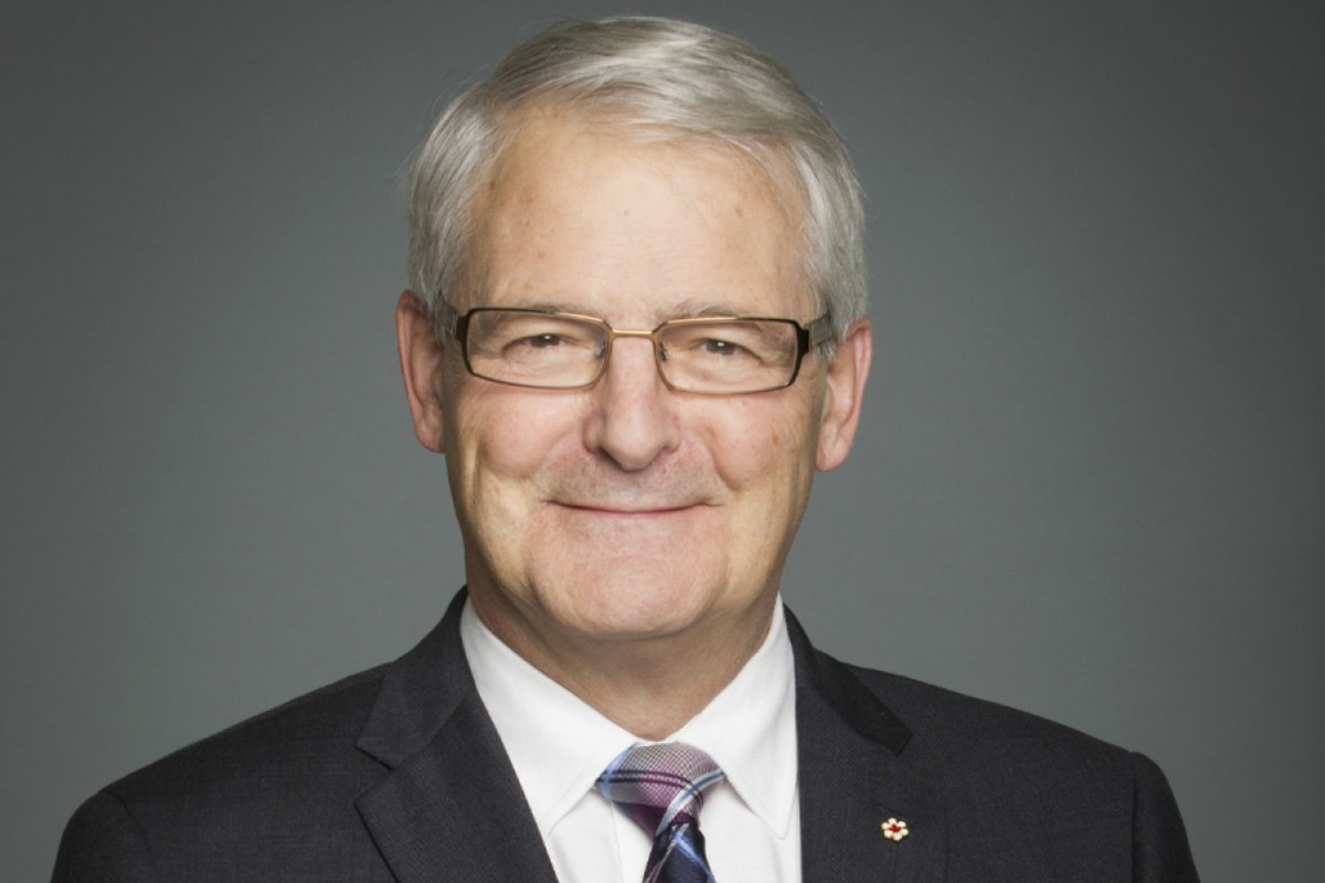 Canada's Minister of Transport Marc Garneau.