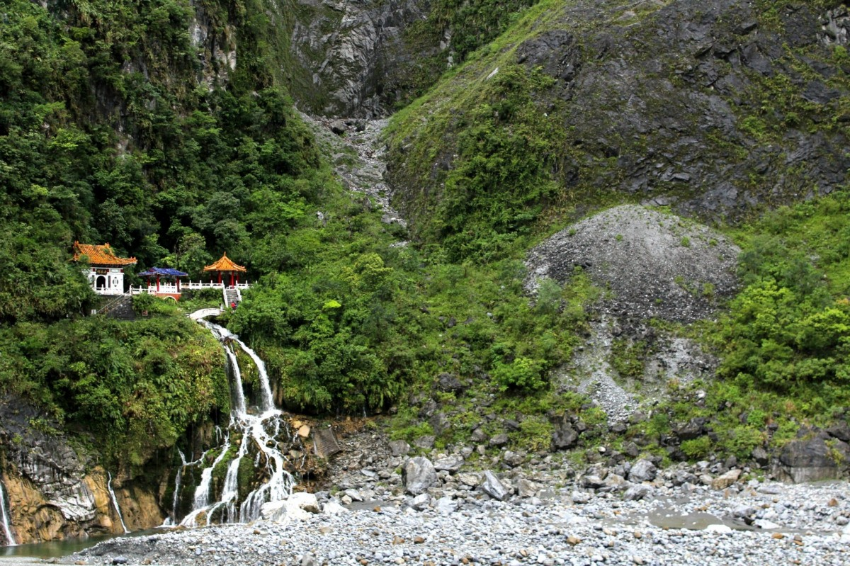 Eternal Spring Shine in Taroko National Park in Taiwan. (Pax Global Media)