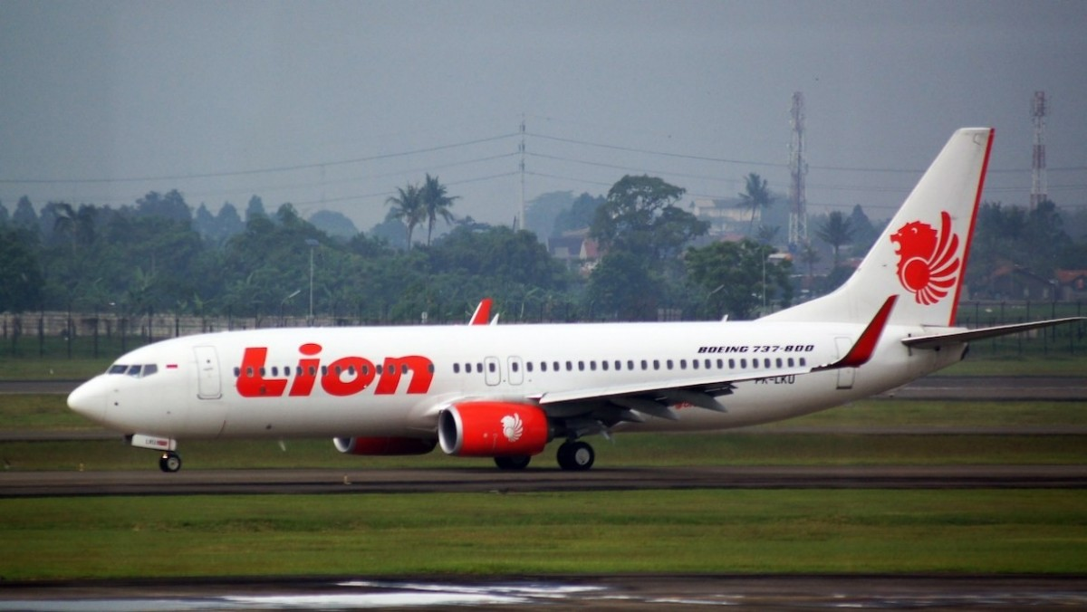 light JT 610, operated by Lion Air out of Indonesia crashed 13 minutes after take-off, killing all 189 on board. Photo: Wikimedia Commons