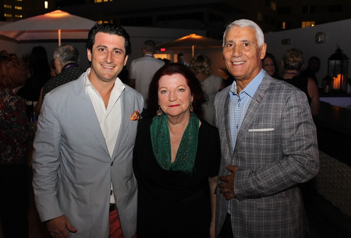 From left (of TravelOnly): Gregory Luciani, president/CEO; Ann Luciani, CFO; Patrick Luciani, founder/chairman photographed in Miami in 2018. (Pax Global Media)
