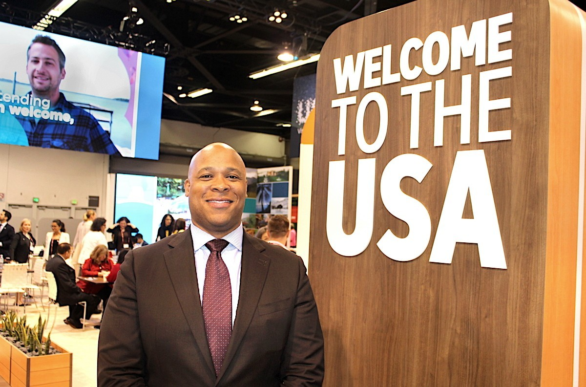 "BIG WELCOME. Brand USA's Colin Skerritt wants to ""re-invigorate"" the way the U.S. is marketed in Canada."