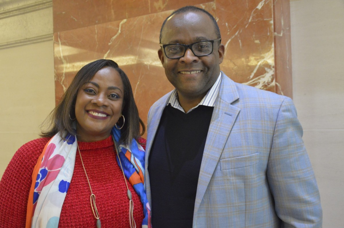 Of the Jamaica Tourist Board: Angella Bennett, regional director – Canada & Donovan White, director of tourism. (Pax Global Media)