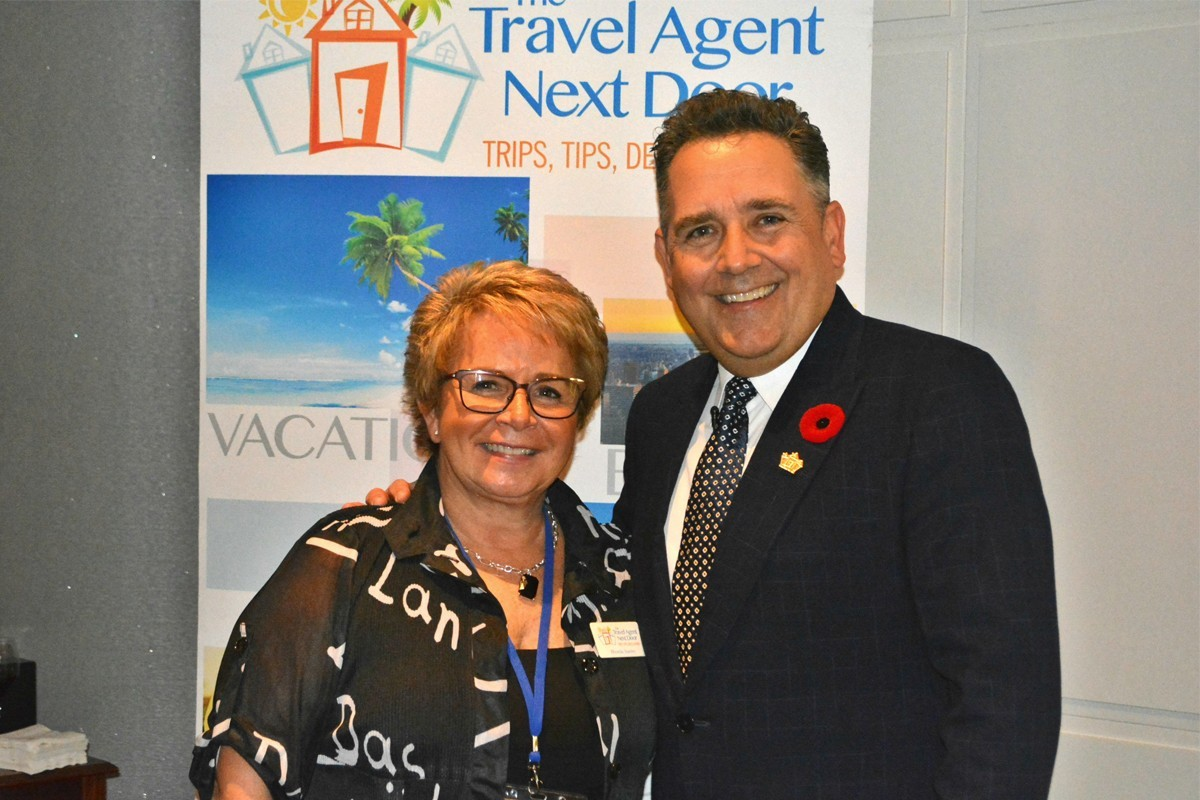 From left (of TTAND): Rhonda Stanley, VP, talent development; Flemming Friisdahl, president & founder. (file photo)