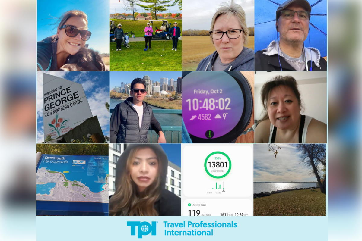 TPI advisors & staff are walking, virtually, along Canada's Trans Canada Trail this month to raise money for the Breast Cancer Society of Canada. (Supplied)