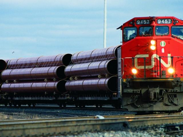 CN Rail reports second-quarter losses