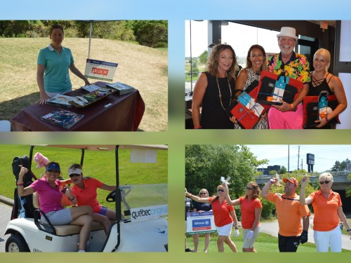 Skal Toronto goes golfing with the travel industry