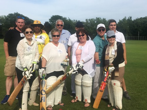 Goway & ANZ hit the field for annual cricket match