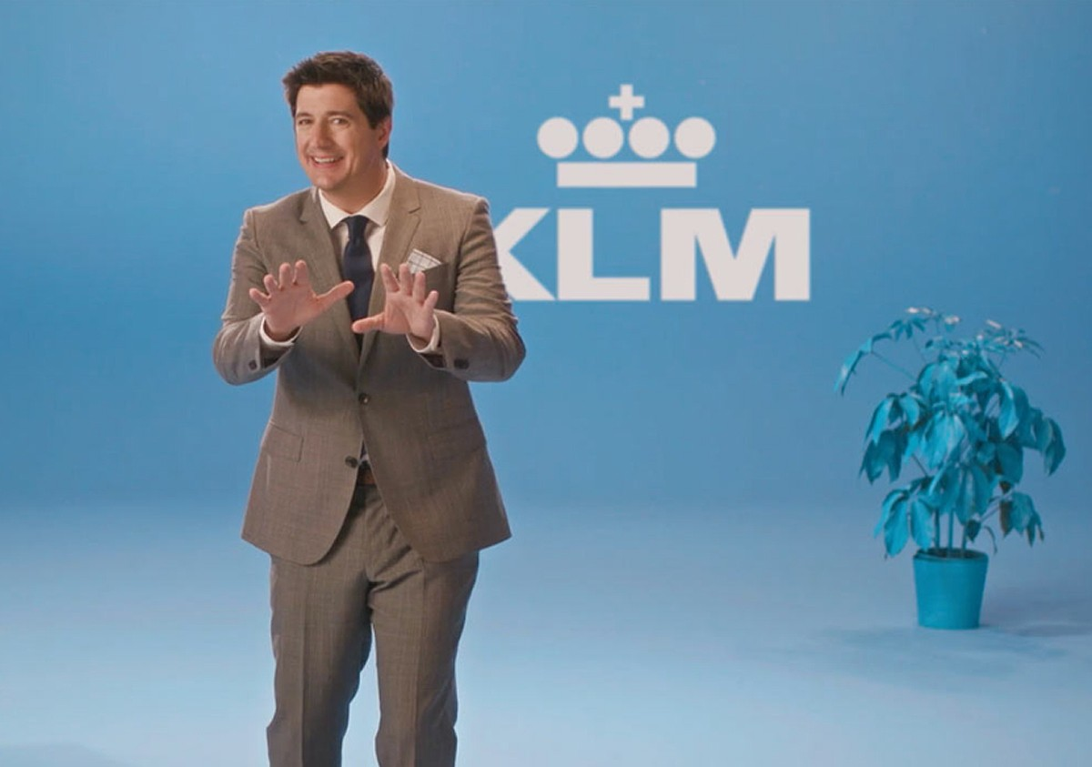 KLM campaign reminds travellers It's An Airline