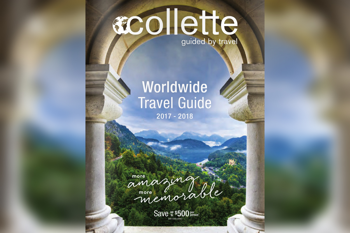 Collette adds 17 global tours to worldwide brochure