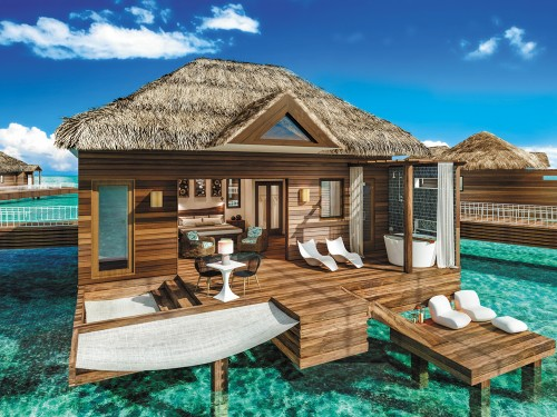 Twelve more over-water suites coming to Sandals Royal Caribbean