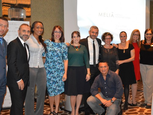 Melia welcomes agents to trade reception