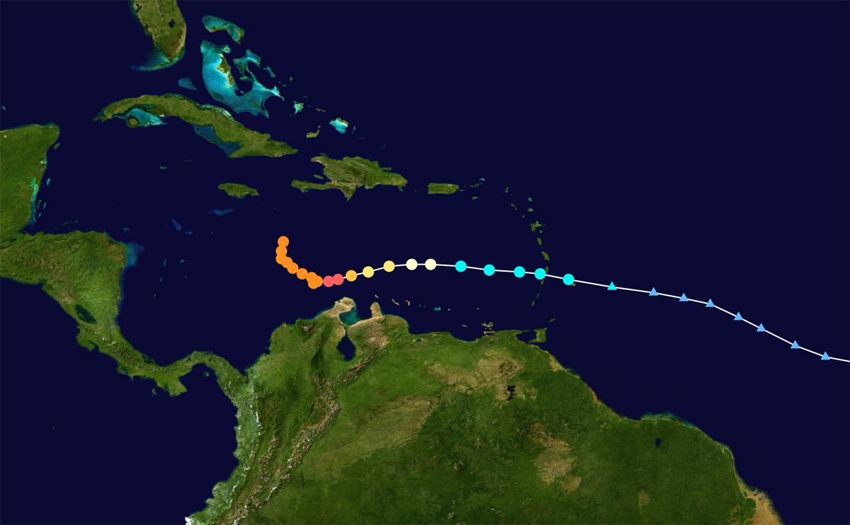 Caribbean bracing for Hurricane Matthew