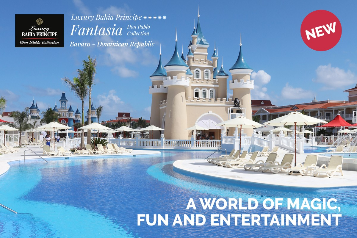 Bahia Principe Hotels & Resorts is bringing a magic touch to Bavaro Beach