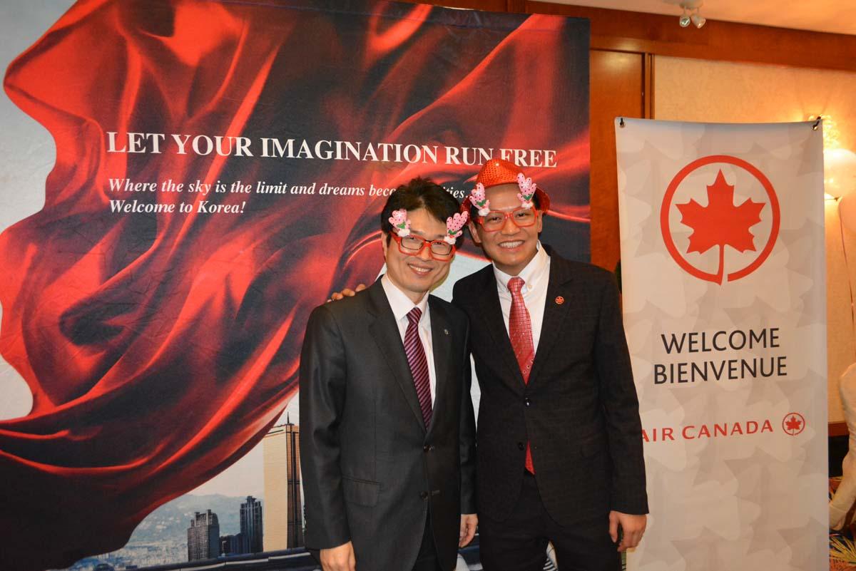 Paxnews Korea Amp Air Canada Celebrate The Season With