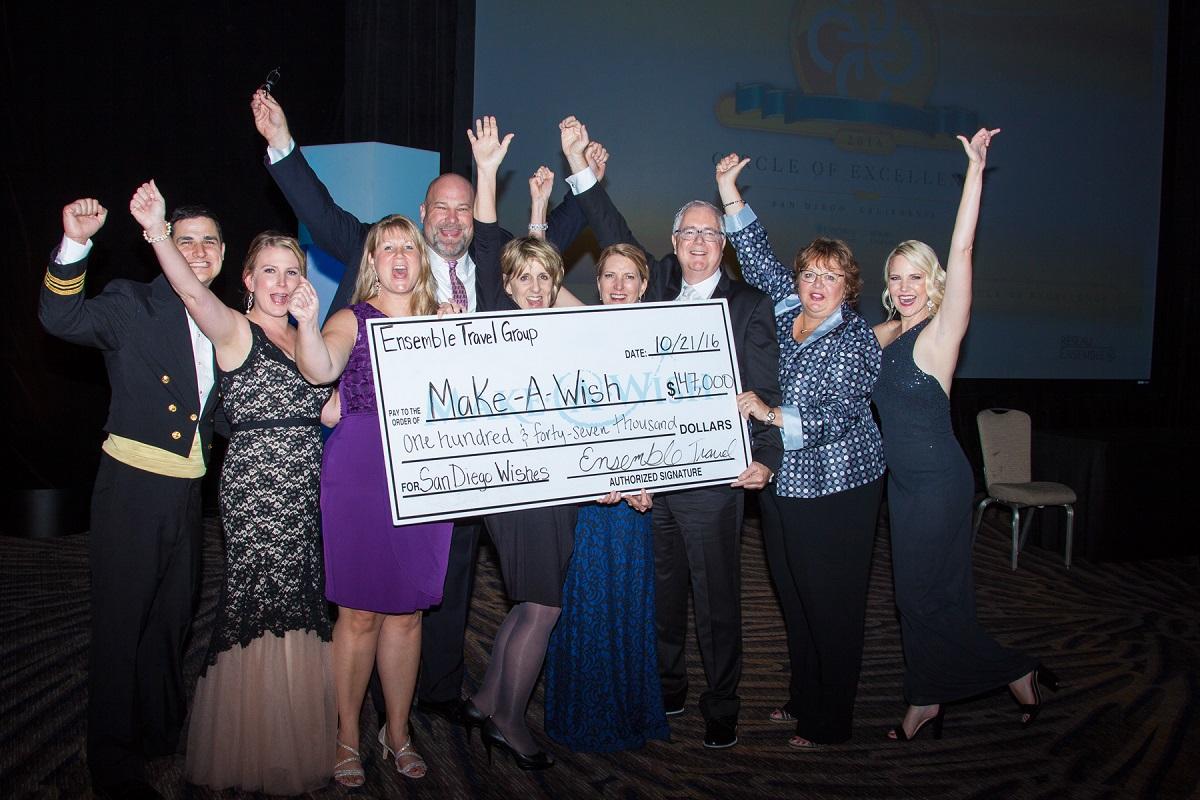 Ensemble raises a record $152K for Make-A-Wish