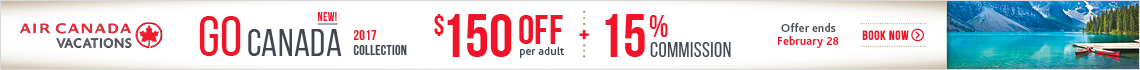 Air Canada Vacations - Fixed footer (Extra)