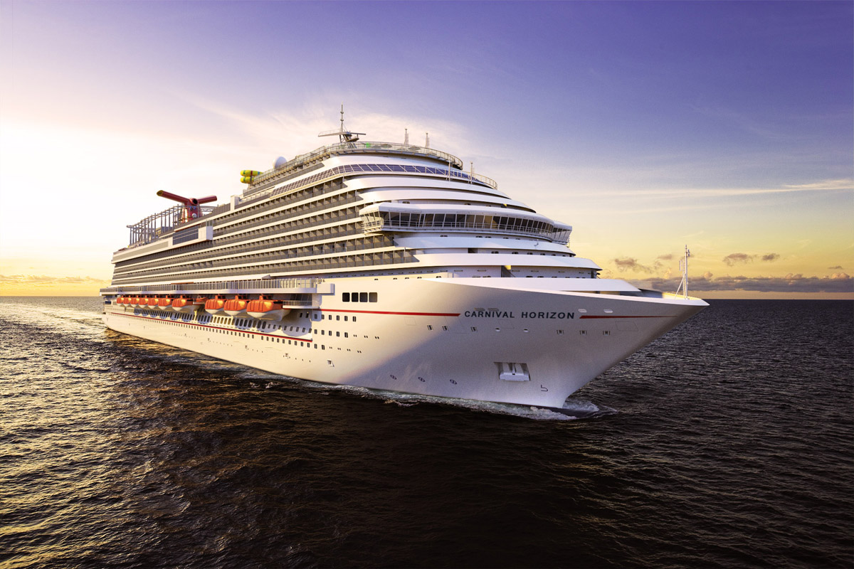 Carnival Cruise Line unveils 2018 itinerary for Carnival Horizon