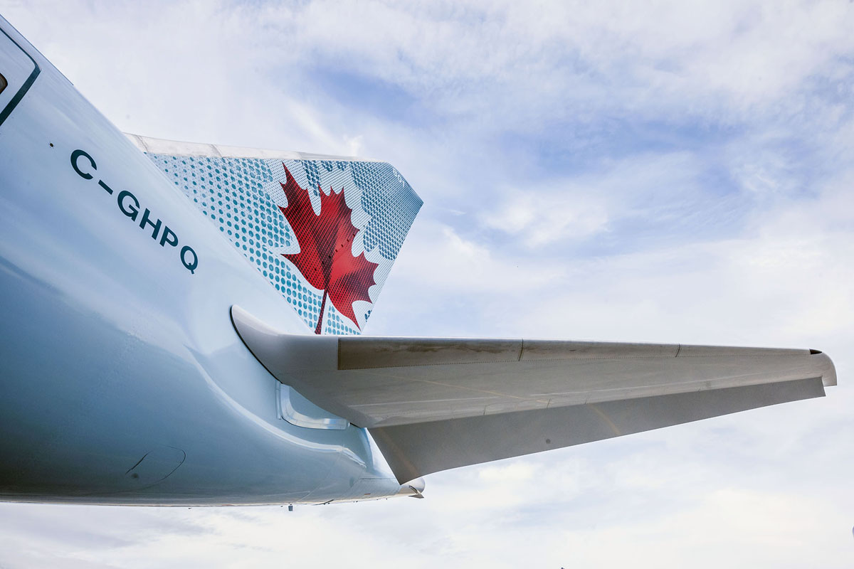 Air Canada recognized for corporate sustainability initiatives