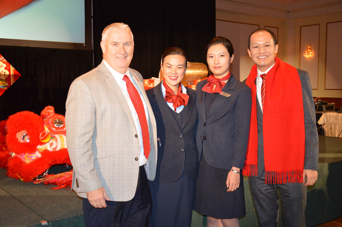 Air Canada rings in the Year of the Rooster