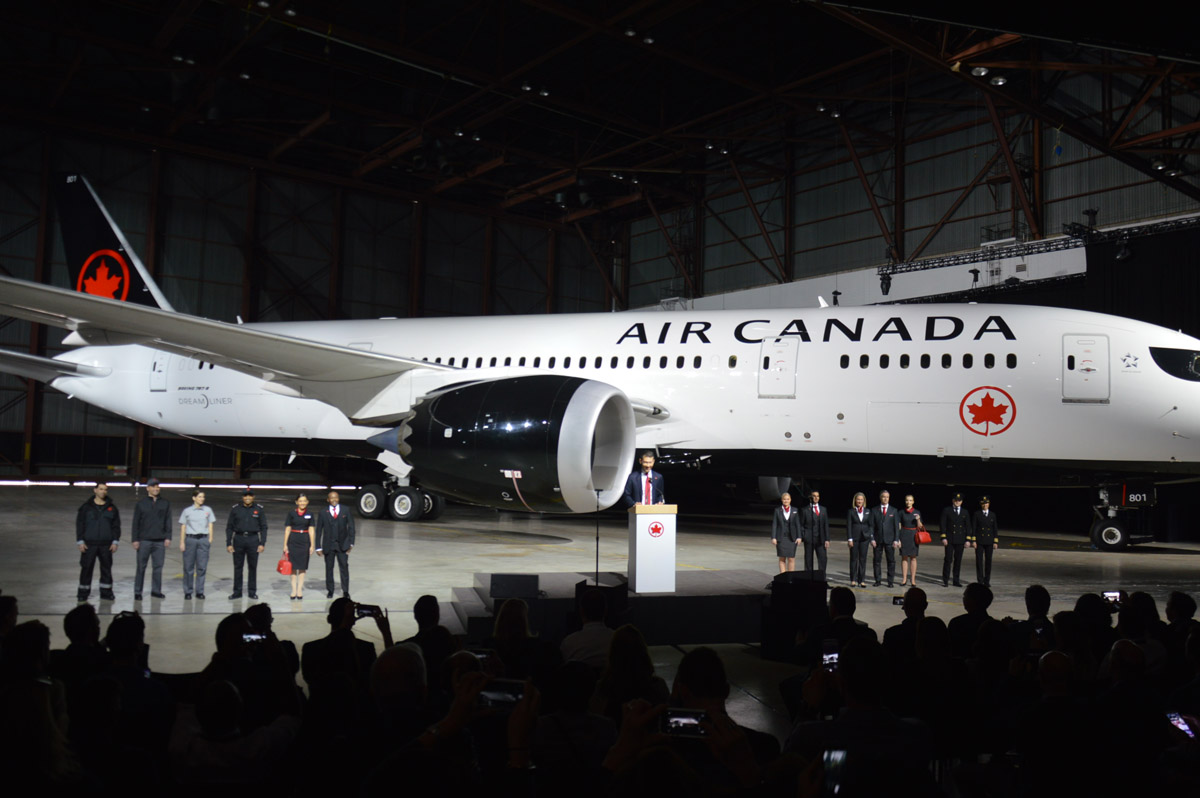 A new look for Air Canada