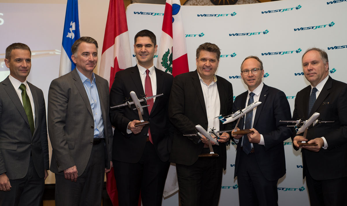 WestJet launches new routes in Quebec