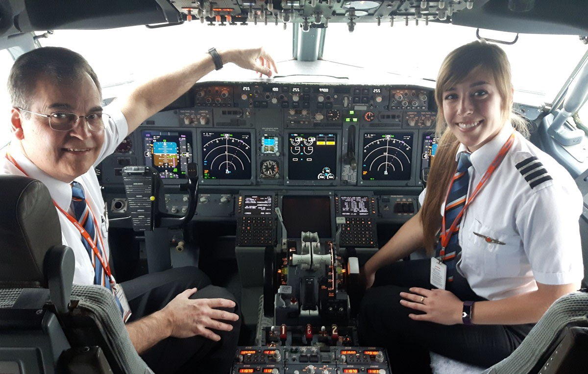 Sunwing's cadet program taking flight again