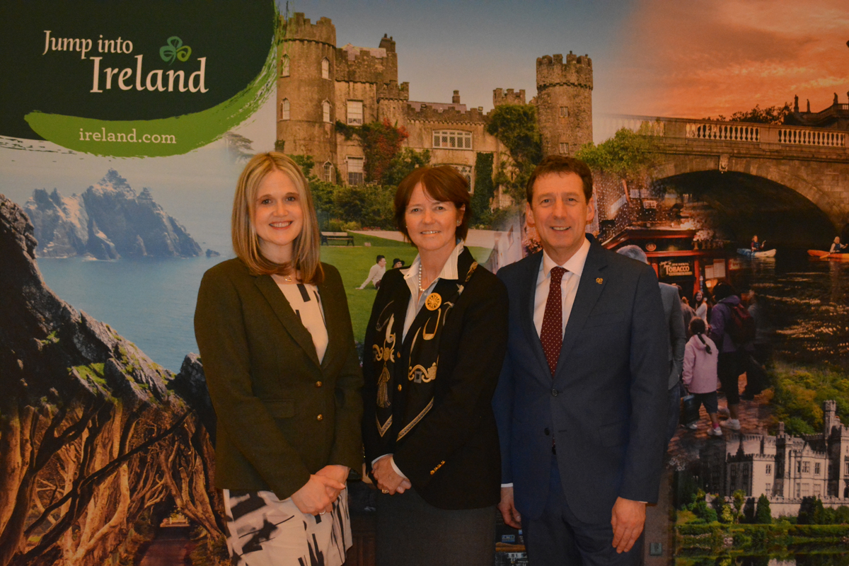 Tourism Ireland bids 'Céad Míle Fáilte' to Canadian agents