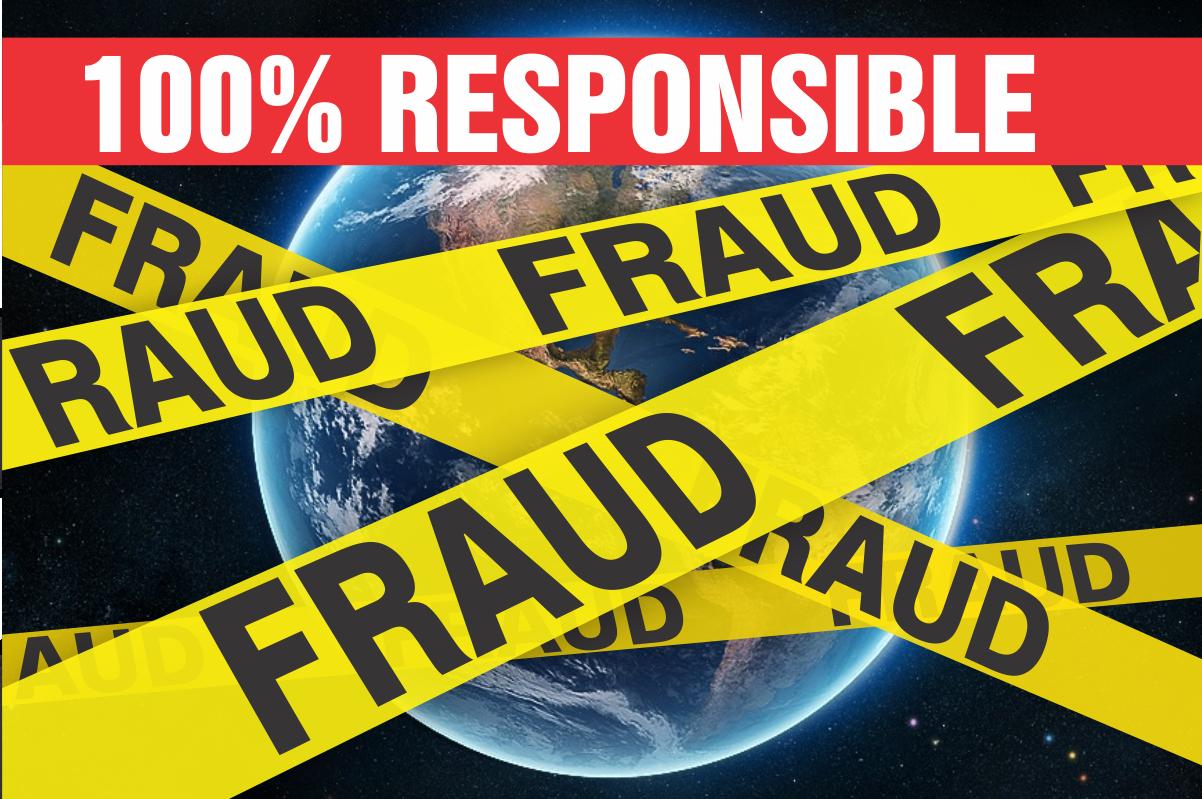 100% responsible