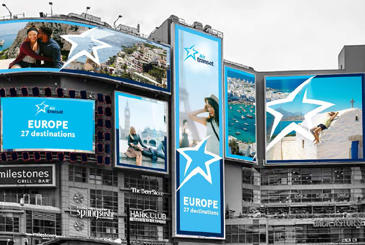 Air Transat rolls out new European destinations ad campaign