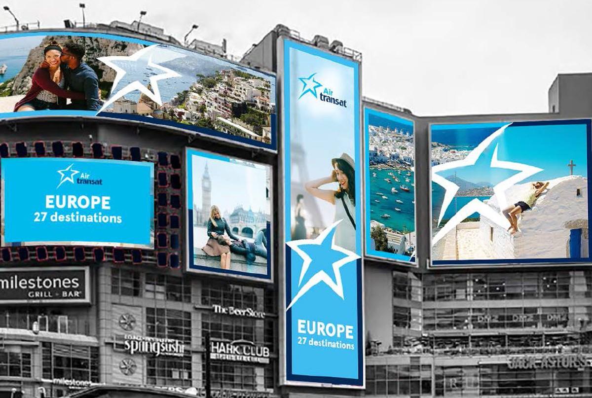 Air Transat rolls out new European destinations ad campaign