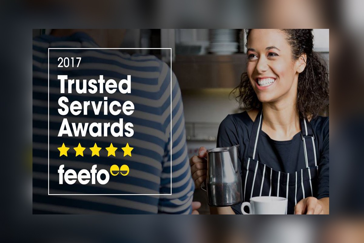 Collette claims Feefo Trusted Service award
