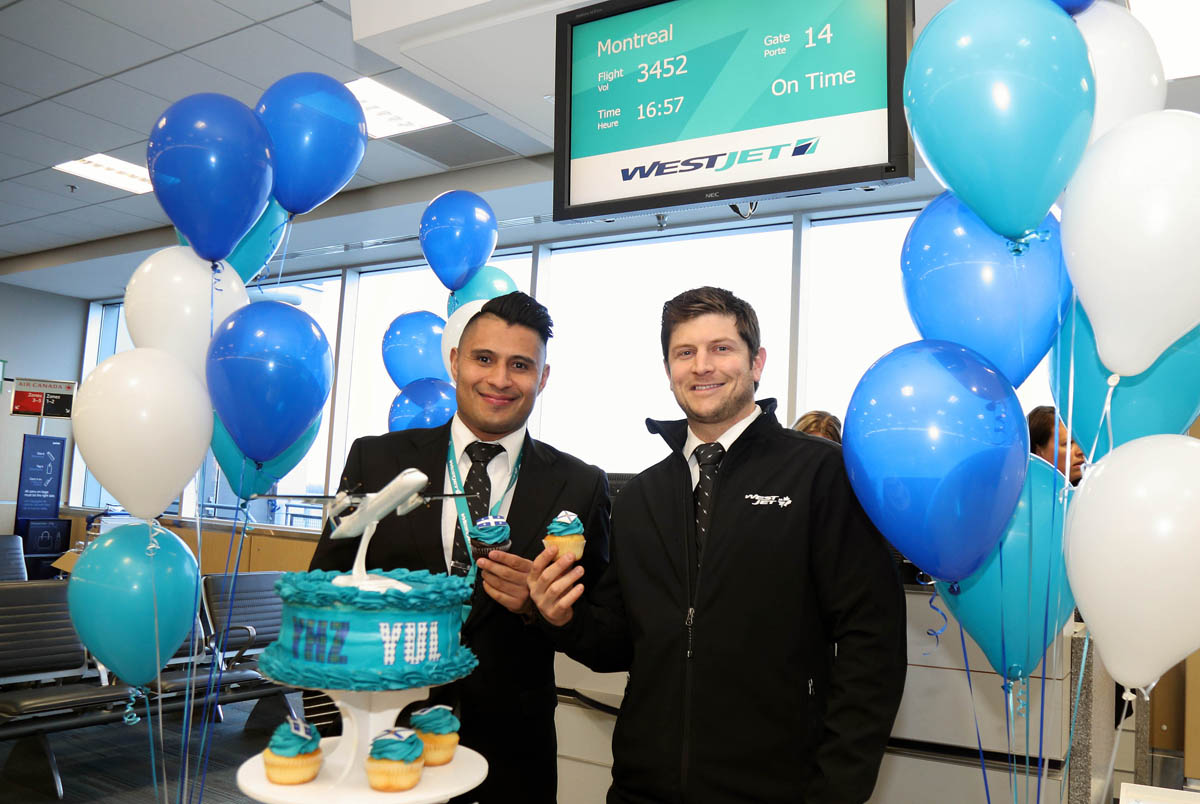 WestJet inaugurates new Halifax-Montreal route