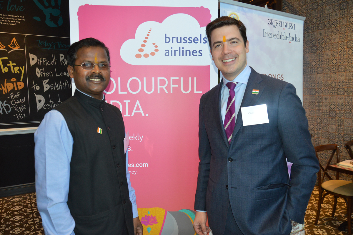 Brussels Airlines & India Tourism celebrate Mumbai flight