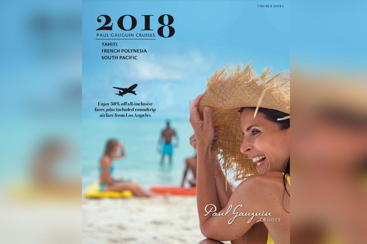 Paul Gauguin Cruises debuts 2018 Voyages brochure