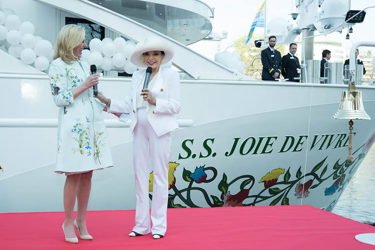 Uniworld's Joie de Vivre embarks on maiden voyage
