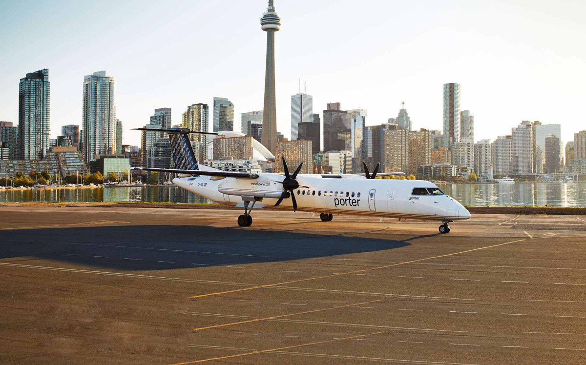 Porter Airlines announces new North Bay-Billy Bishop schedule