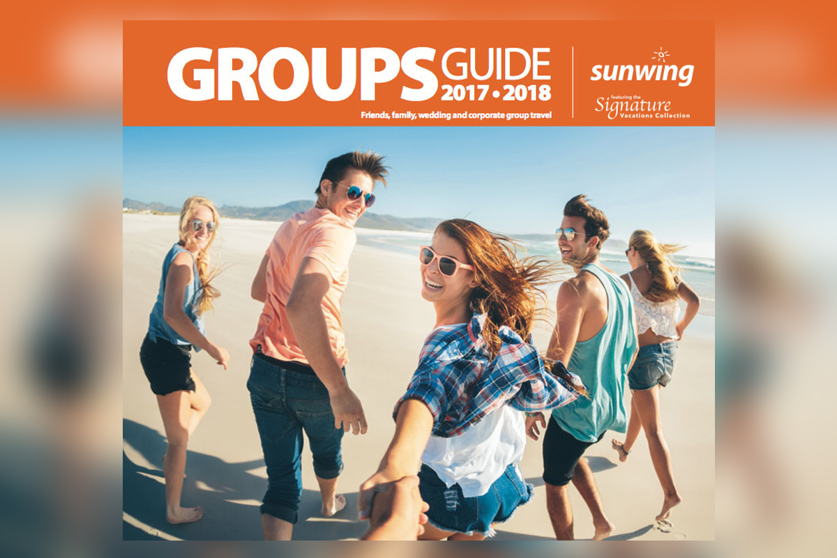 Sunwing releases 2017/18 Groups Guide
