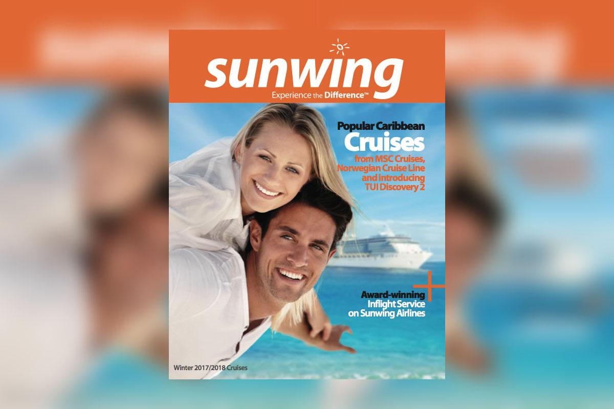 Sunwing's 2017-18 cruise brochure sets sail