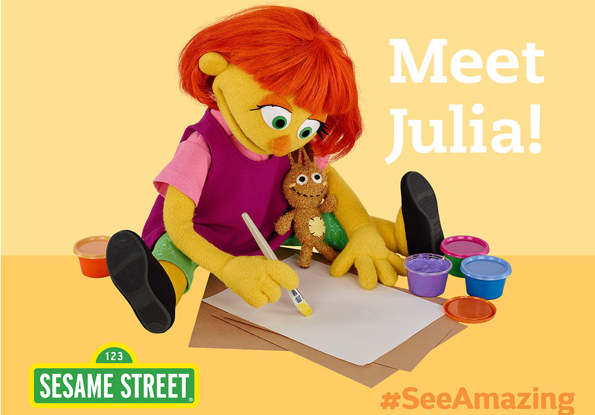 Beaches Resorts welcomes Sesame Street's Julia this fall