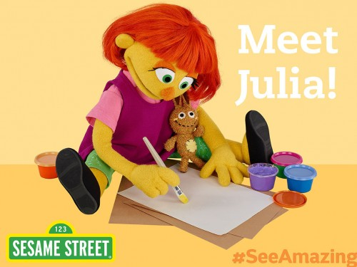 Beaches Resorts welcomes Sesame Street's Julia this fall