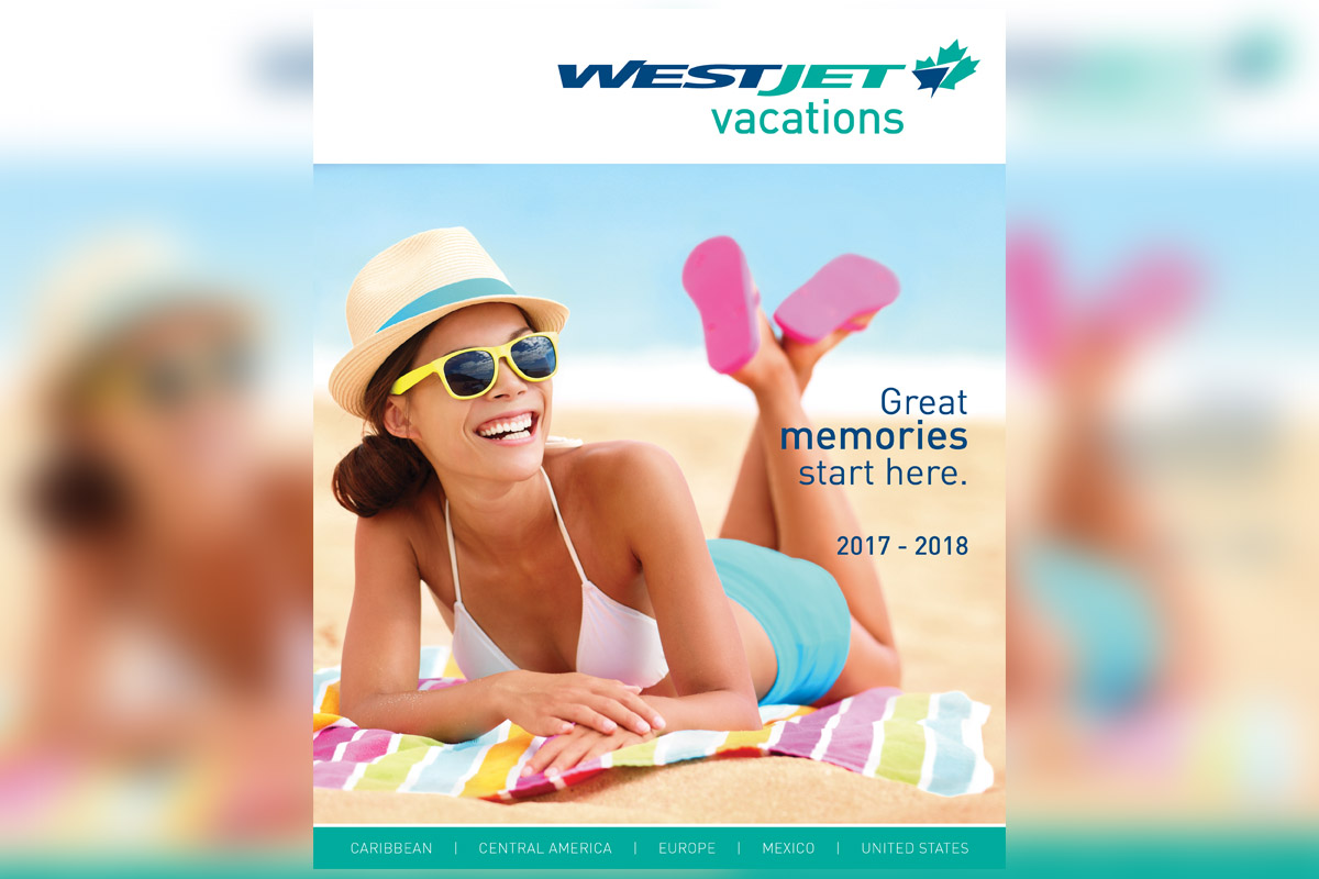 WestJet Vacations' 2017-18 brochure coming soon