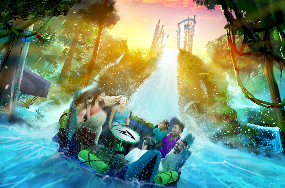 Infinity Falls to debut at SeaWorld in summer 2018