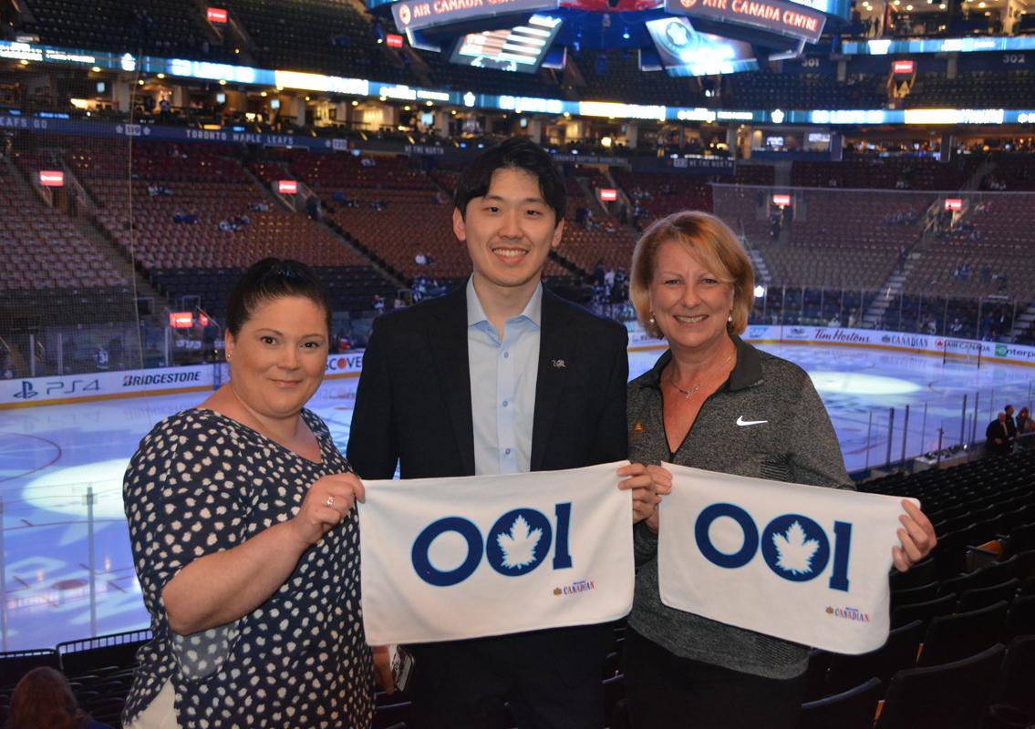 LVCVA shows Canada that #VegasIsHockey
